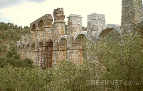 The Roman Aquaduct...